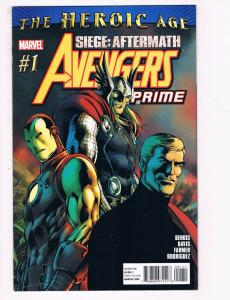 Siege Aftermath Avengers Prime # 1 One Shot NM Marvel Comic Book Heroic Age S91