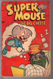 Super Mouse #20 1952-violent-rare late issue-Leprachaun story-G