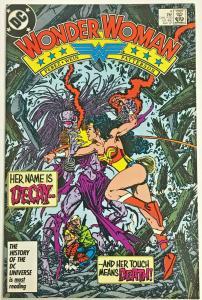 WONDER WOMAN#4 VF 1987 DC COMICS