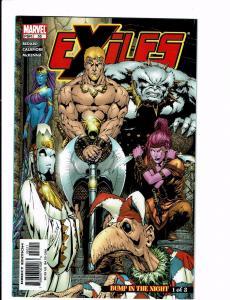 Exiles # 55 VF-NM 1st Print Marvel Comic Book X-Men Wolverine Avengers Hulk J113
