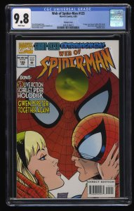 Web of Spider-Man #125 CGC NM/M 9.8 White Pages Variant Cover!