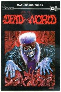 DEADWORLD #13, FN, Caliber, Undead, Zombies, Vincent Locke, 1989