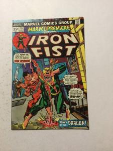 Marvel Premiere 16 Very Fine/Near Mint VF/NM 2nd Appearance Of Iron Fist W/ MVS