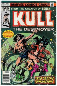 Kull The Destroyer #26 (Marvel, 1978) FN-