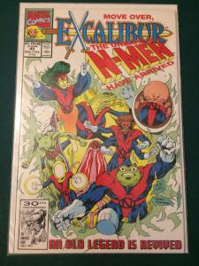 Excalibur #45 Move Over, The Unearthly N-Men Have Arrived