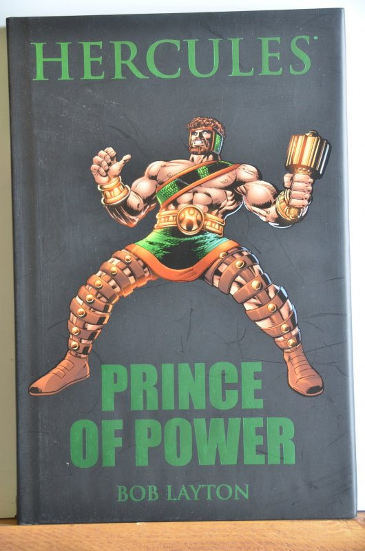Hercules: Prince of Power #1 (2009) HB ! Collects Early Hercules!!