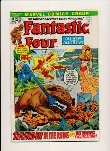 Marvel FANTASTIC FOUR #118 Thunder in the Ruins  VG- (PF816)