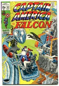 CAPTAIN AMERICA #141 comic book 1971-FALCON-MARVEL COMICS vg-