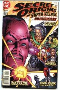 Secret Origins of Super Villains #1 1999 - 1st appearance of Johnny Sorrow