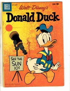 Walt Disney's Donald Duck # 71 FN 1960 Silver Age Dell Comic Book Mickey JL1