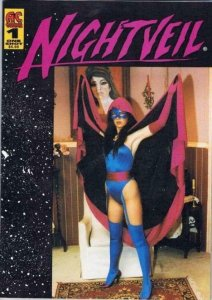 NIGHTVEIL / COLT #1, NM, Night Veil, Femme Fatale, flip cover comic