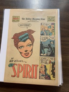 The Spirit Comic Book Section Newspaper Very Fine Or Better 1942 February 15