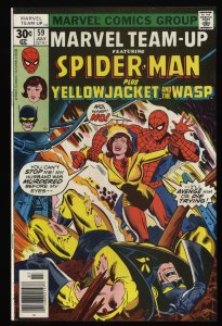 Marvel Team-up #59 FN/VF 7.0 Spider-Man Yellowjacket Wasp!