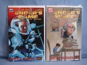 ENDER'S GAME: BATTLE SCHOOL Marvel Comics 2008 Series 1-5 With 4 VARIANTS L@@K!!