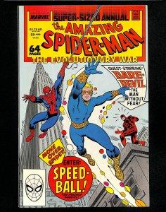 Amazing Spider-Man Annual #22 1st App. Speedball