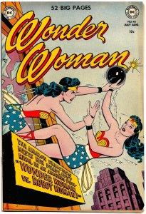 WONDER WOMAN #48 (July1951) 7.0 FN/VF  ★ Wonder Woman VS. Robot Woman!!