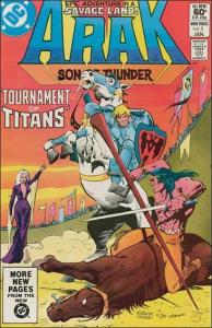DC ARAK SON OF THUNDER #5 FN