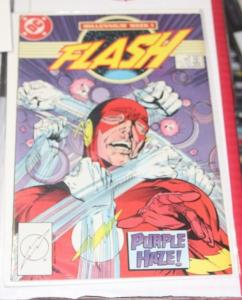 FLASH # 8 (Jan 1988, DC)  + WALLY WEST  MILLENNIUM