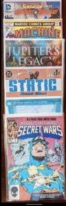 Marvel Super Heroes Secret Wars #7 (1984) and more! 5 Books!