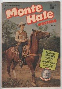 Monte Hale Western #41 (Oct-49) FN Mid-Grade Monte Hale, Gabby Hayes
