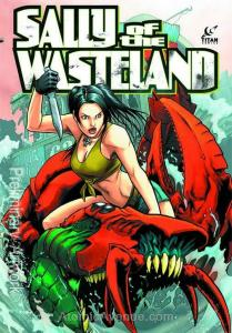 Sally of the Wasteland #1 VF/NM; Titan   save on shipping - details inside