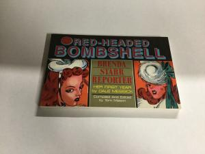 Red-headed Bombshell Brenda Starr Reporter Oversized SC Softcover B19