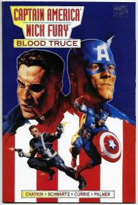 Captain America Nick Fury Blood Truce #1 (Marvel, 1995) VF/NM