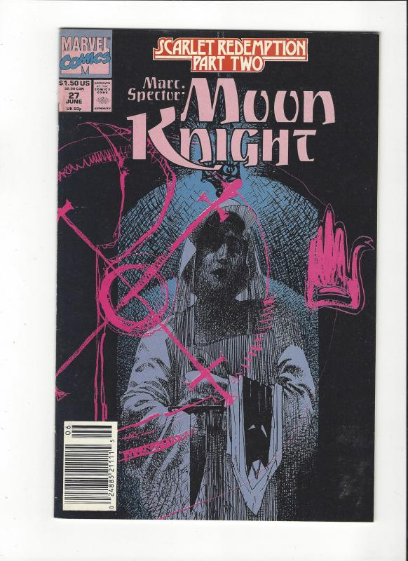 Marc Spector: Moon Knight #27 Scarlet Redemption NM