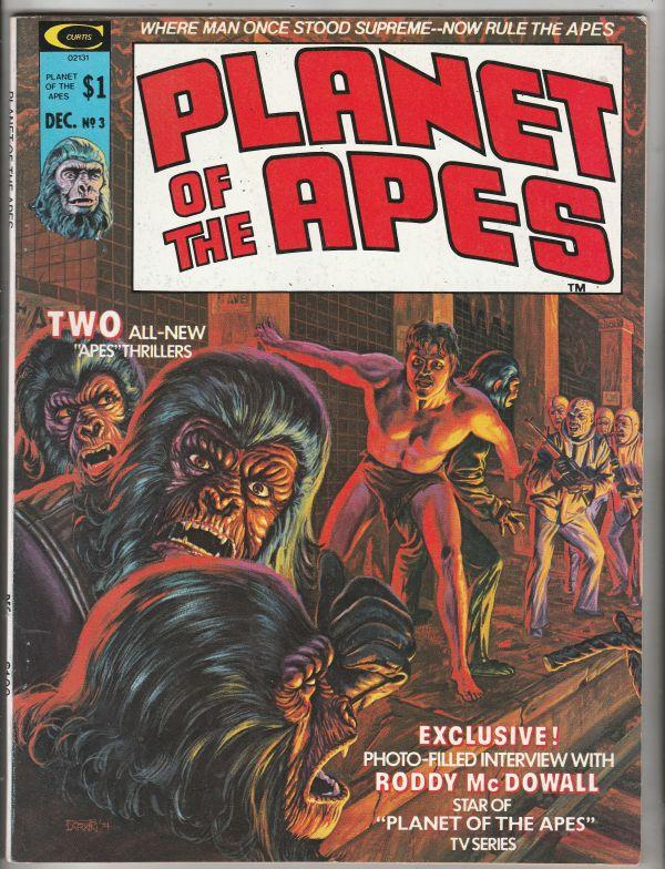 Planet of the Apes Magazine #3 (Dec-74) NM/NM- High-Grade