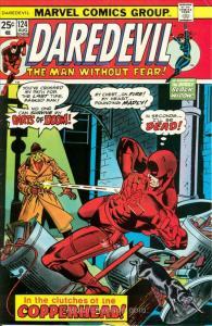 Daredevil #124 VG; Marvel   low grade comic - save on shipping - details inside