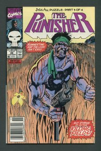 Punisher #39 /9.2 NM-  Jigsaw Part Five  Newsstand September 1990