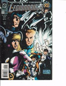 Lot Of 2 DC Comic Books Beginning Tomorrow Legionnaires #0 and New Titans #0 ON5