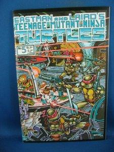 TEENAGE MUTANT NINJA TURTLES 5 NM FIRST PRINT 1985