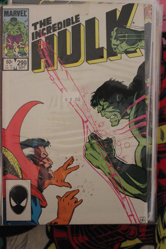 Incredible Hulk 299  F/VF