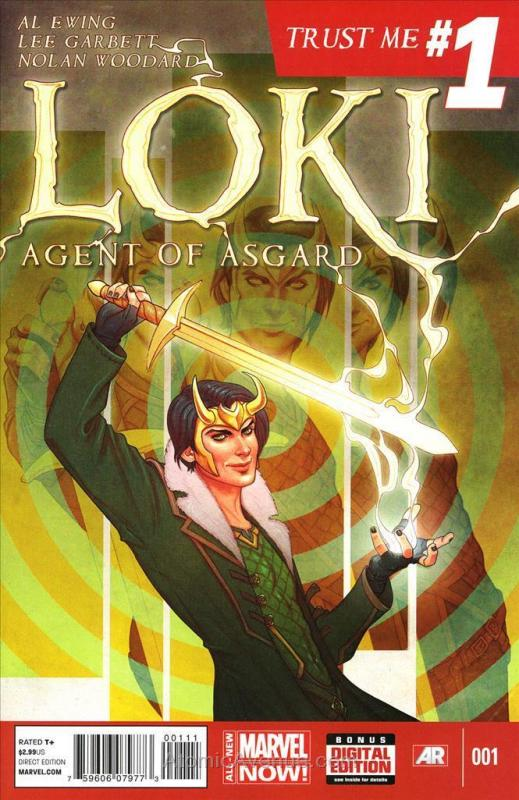 Loki: Agent of Asgard #1 VF/NM; Marvel | save on shipping - details inside