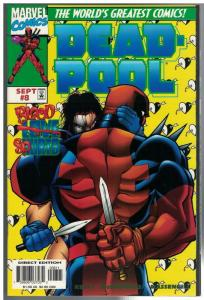 DEADPOOL (1997) 8 VF-NM  Sept. 1997