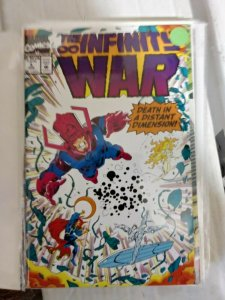 INFINITY WAR # 3 thanos avengers jim starlin silver surfer warlock  endgame