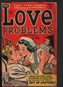 LOVE PROBLEMS AND ADVICE ILLUSTRATED #22 1953-BOB POWELL-ROMANCE