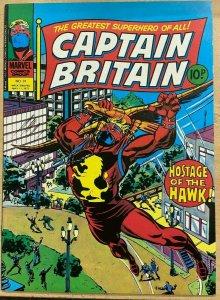 CAPTAIN BRITAIN #31 (5/1977,Marvel UK) VF-NM,  England's #1 superhero!