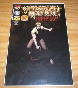 J. Michael Straczynski's Midnight Nation 1 VF/NM dynamic forces european variant