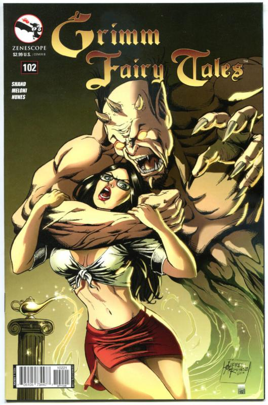 GRIMM FAIRY TALES #102 B, NM, 2005, 1st, Good girl, more GFT in store
