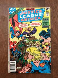 Justice League of America #157 (DC Comics; Aug, 1978) - Giant issue - Fine