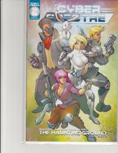 Cyber Spectre #2 Kickstarter Ale Garza Stabbity Bunny Variant Scout Comics NM