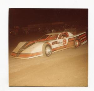 Kevin Claycomb-Color Photo-East Bay Speedway-#3-1983-VG