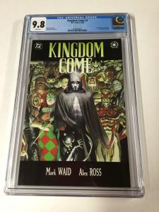 Kingdom Come 1 Cgc 9.8 White Pages 1st First Magog Dc Comics 2030360013