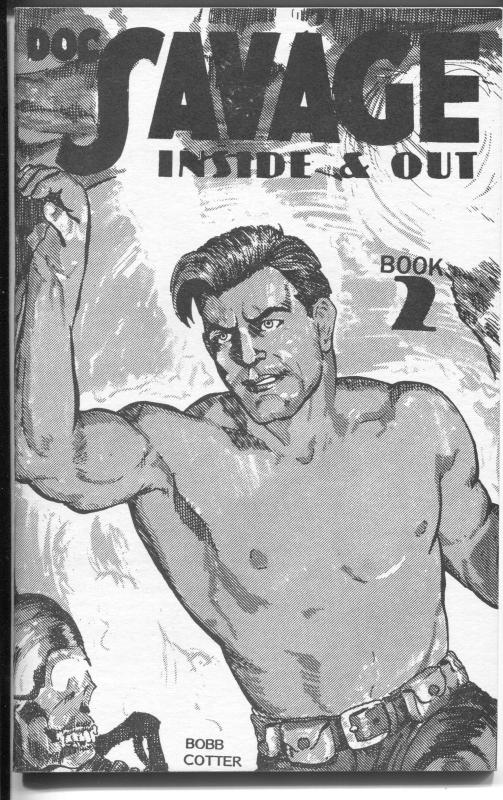 Doc Savage Inside & Out #2 12/1989-art reprints from Doc Savage early issues-NM