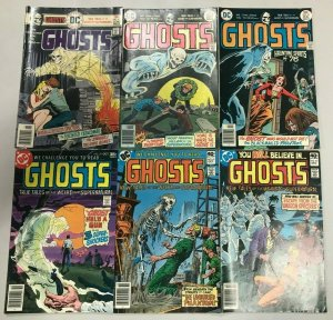 GHOSTS#47-83 VG-VF LOT (6 BOOKS) 1976 DC BRONZE AGE COMICS
