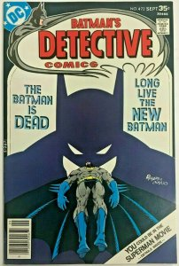 DETECTIVE COMICS#472 VF 1977 MARSHALL ROGERS ART DC BRONZE AGE COMICS