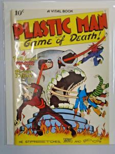 Flashback #11 - Plastic Man 1 - see pics - 7.5 - 1943 1974