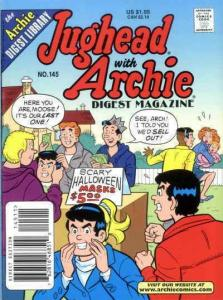Jughead with Archie Digest Magazine #145 VF; Archie | save on shipping - details
